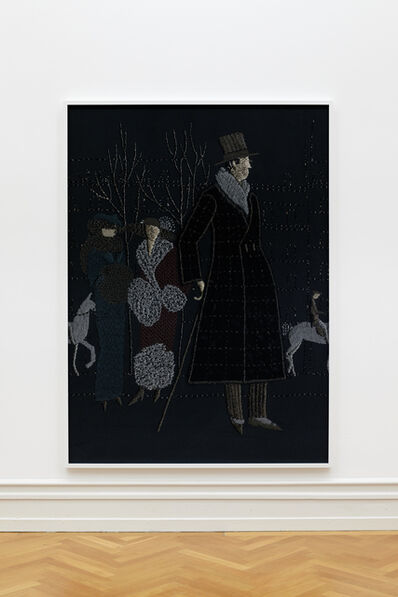 Tobias Kaspar, 'Dandy (black) ', 2018