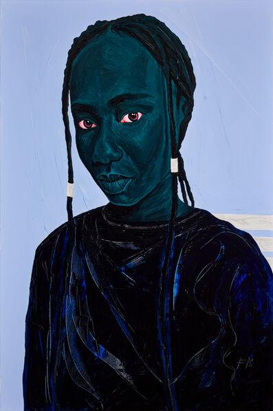 Annan Affotey, 'Stella in blue', 2021