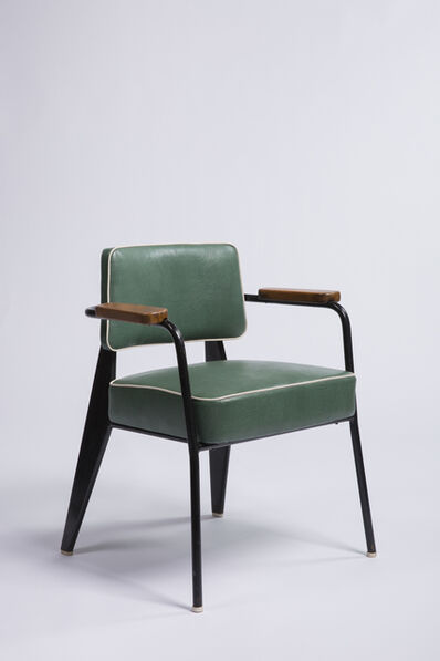 "Jean Prouvé, '""Direction"" armchair', ca. 1950"