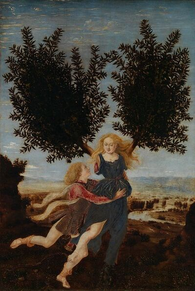 Piero del Pollaiuolo, 'Apollo and Daphne ', Probably 1470-80