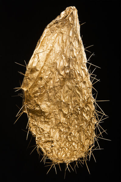 Oded Balilty, 'Sabra Traces, in gold', 2017