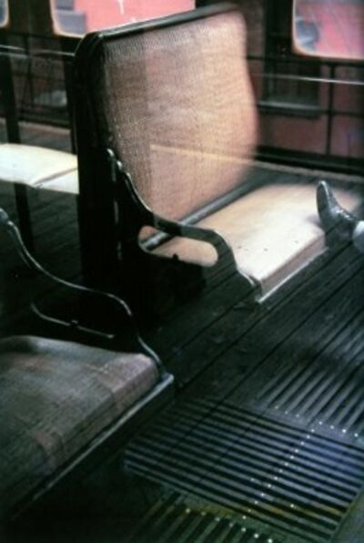 Saul Leiter, 'Foot on El', 1954