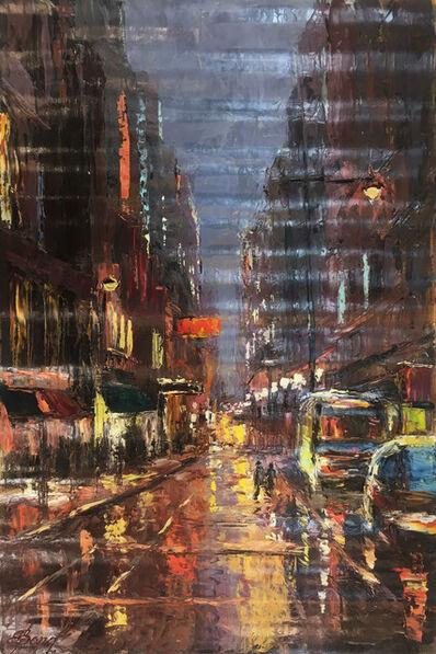 Elena Bond, 'Dusk in Chelsea'