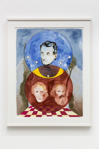 Paolo Chiasera, 'Mayer, Marx, Fourier', 2015