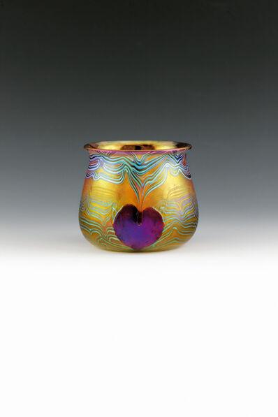 Loetz, 'Vase with hearts', Bohemia-c. 1903