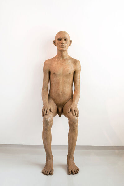 Dhruva Mistry, 'Seated Man', 1981