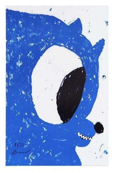Szabolcs Bozó, 'BLUE NICOLAS ', 2020