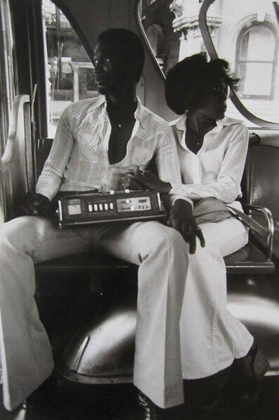 Frank Stewart, 'Radio Players (Youth in Harlem Series)', 1978