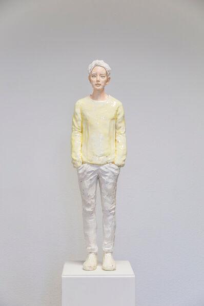 Hirofumi Fujiwara, 'utopian (neonyellow)', 2020