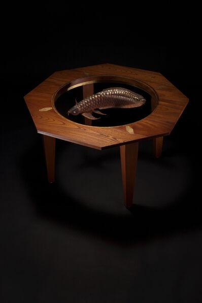AKIO OHMORI, 'Moonlight table -Red Arowana-'