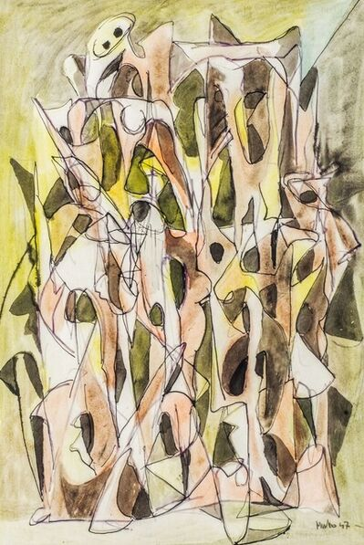 Mirko, 'Deposition', 1947
