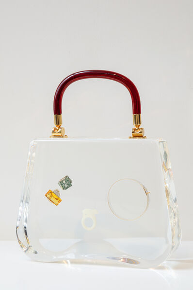 Ted Noten, 'Bag with rings and Bracelet', 2017