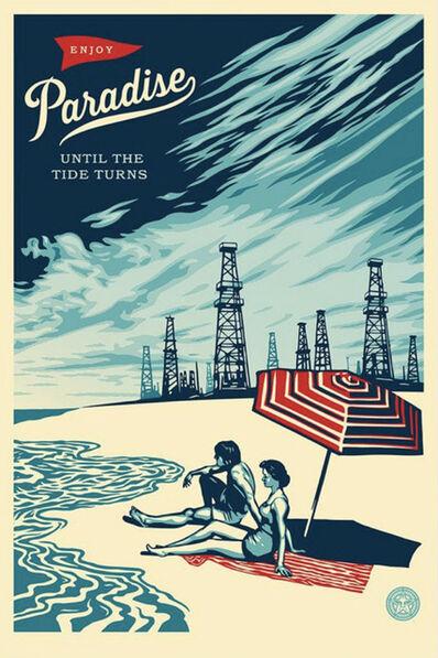Shepard Fairey, 'Paradise Turns - Offset', 2015