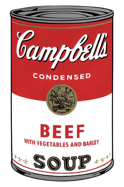 Andy Warhol, 'Campbell's Soup Can 11.49 (Beef)', 1960s printed after