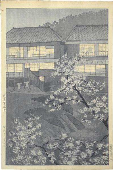 Kasamatsu Shirō, 'Shuzenji Hot Springs', 1937