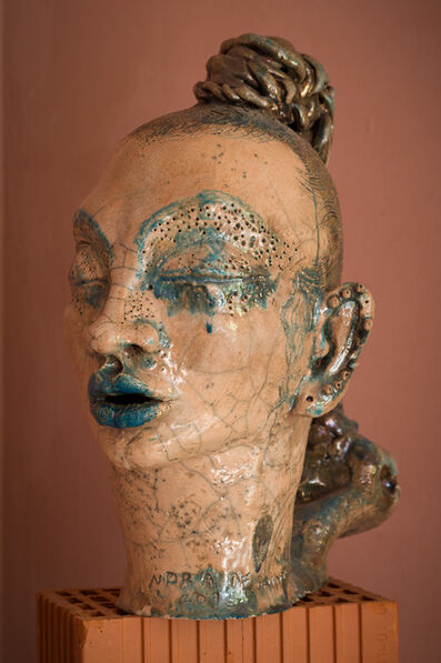 Norma de Saint Picman, 'La fille avec les tresses', 2016