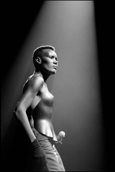 David Corio, 'Grace Jones, Drury Lane Theatre, London, UK', 1981