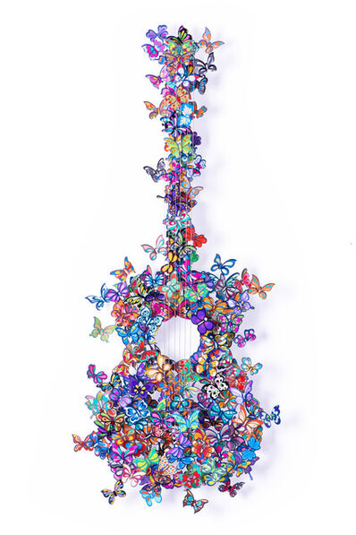 David Kracov, 'Butterfly Guitar Making Beautiful Music ', 2016