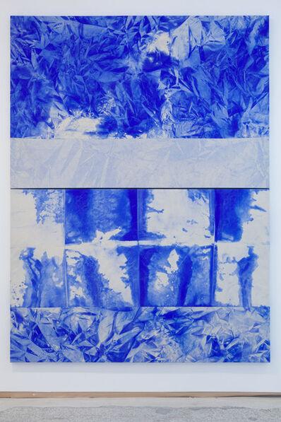 Mette Tommerup, 'Horizon Seam (Horizontal Diptych)', 2017