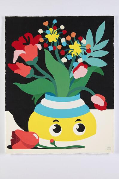 DABSMYLA, 'Dreams Vase on Table Yellow', 2020