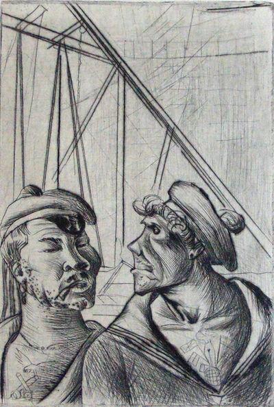 Otto Dix, 'Technical Personnel | Technisches Personal', 1922