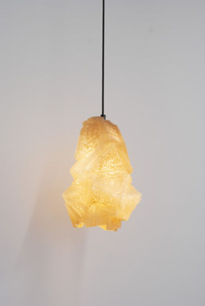 Thaddeus Wolfe, 'Patterned Relief Pendant Light', 2013