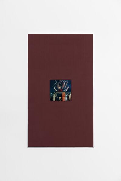 Than Hussein Clark, 'Mussolini as Orange Rectangle Print', 2019