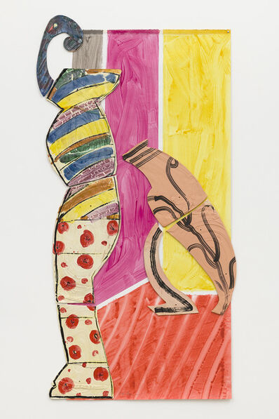 Betty Woodman, 'Lady and Leaning Vase', 2011