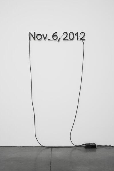 Glenn Ligon, 'One Black Day', 2012