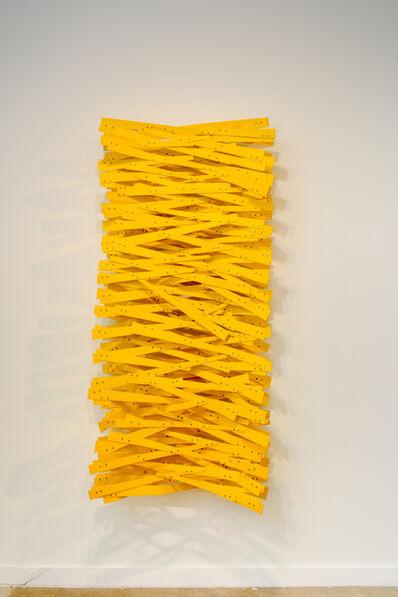 Ricardo Cardenas, 'Bosque amarillo vertical', 2017