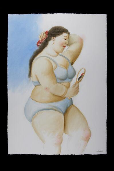 Fernando Botero, 'La Toilette', 2009