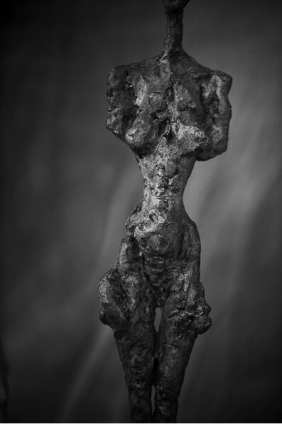 Peter Lindbergh, 'Alberto Giacometti, Femme debout  (Poseuse I) (1954), Zurich, 2016', 2016