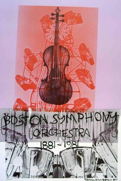 Robert Rauschenberg, 'Boston Symphony Orchestra', 1981