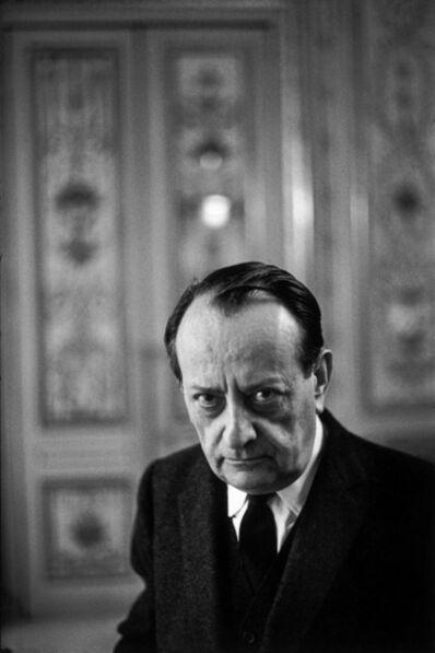 Henri Cartier-Bresson, 'André Malraux', 1968