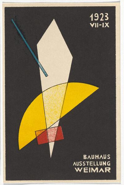 László Moholy-Nagy, 'Bauhaus Postcard', 1923