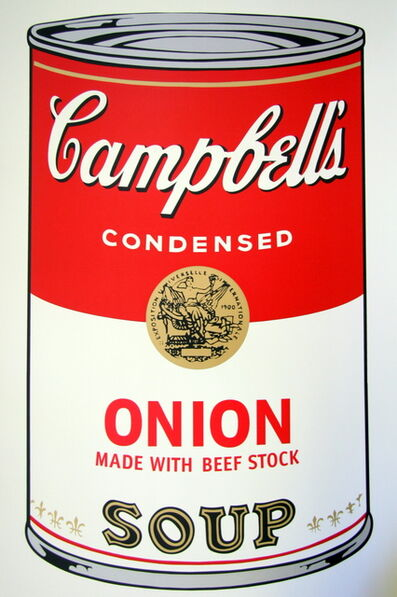 Andy Warhol, 'Onion Soup', 1970-2019