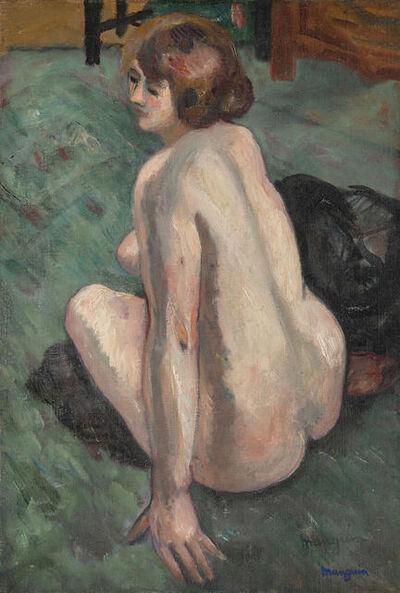 Henri Manguin, 'Grenouillette, vue de dos', 1922