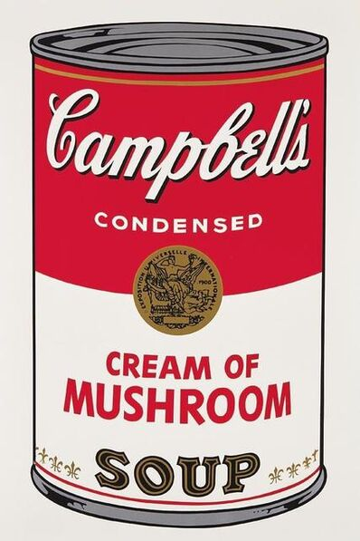 Andy Warhol, 'Cream of Mushroom Campbells Soup', 1968