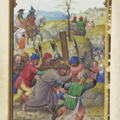 Simon Bening, 'The Way to Calvary', 1525-1530