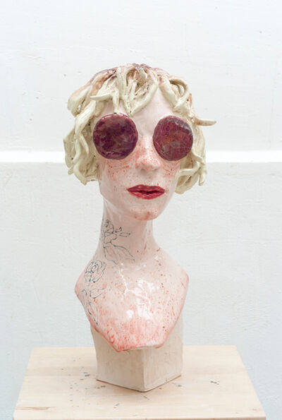 Agathe Brahami-Ferron, 'Tête blonde', 2018