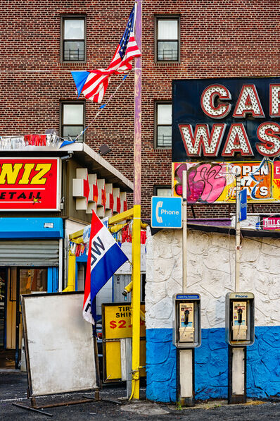 David Stock, 'Car Wash, Elmhurst', 2015