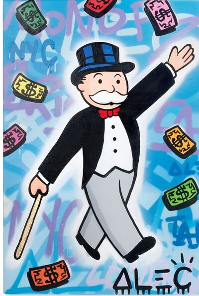 Alec Monopoly, 'Monopoly Walking Hand Up 2019', 2019