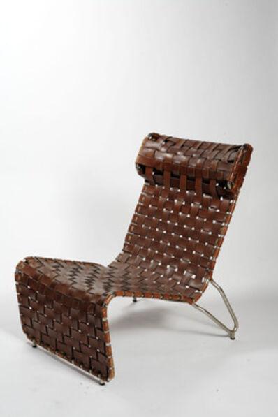 Luigi Vietti, 'Armchair in leather strips (Poltrona in strisce di cuoio)', 1936