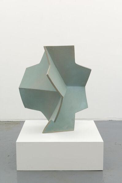 John Mason, 'Cross, Folded, Jadeite', 2016