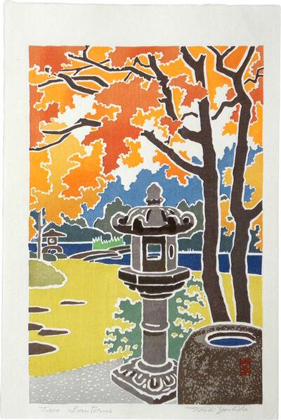 Toshi Yoshida, 'Two Lanterns', 1964