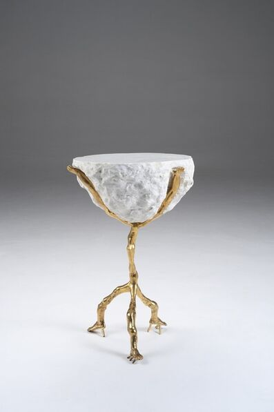 Humberto and Fernando Campana, 'Side Table 'Humberto' White', 2012