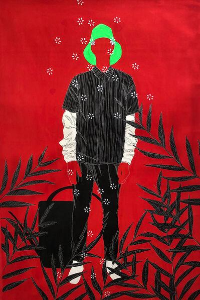Moustapha Baïdi Oumarou, 'Zone rouge', 2021