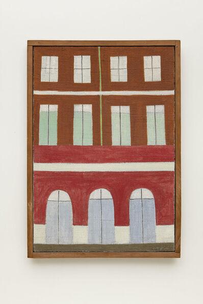 Alfredo Volpi, 'Untitled (Fachadas)', mid 1950's