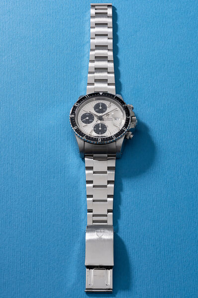 Tudor, 'A rare and fine stainless steel chronograph wristwatch with date, bracelet, guarantee and box', 1993
