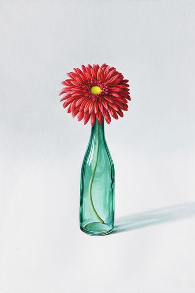 Alina Kunitsyna, 'Kunststoff Blume vom Tisch meiner Steuerberaterin', 2019